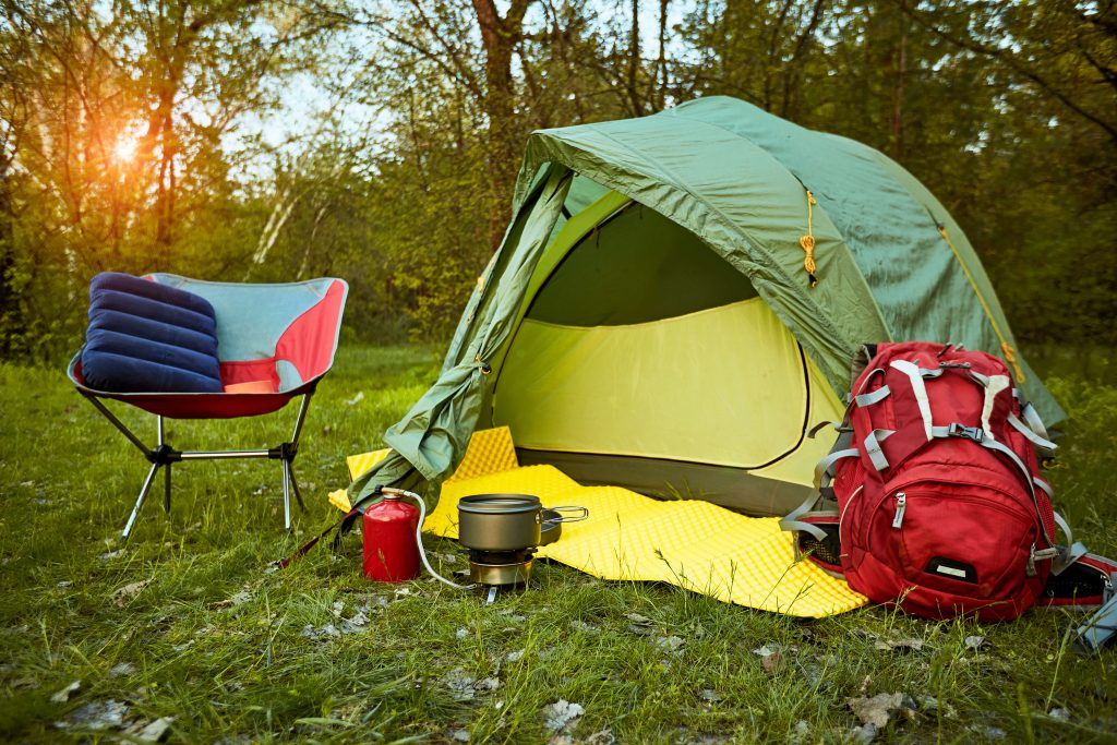 family camping tent design