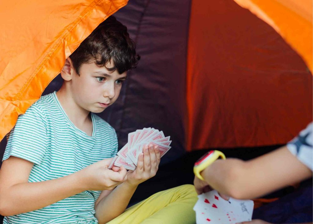 tent card games