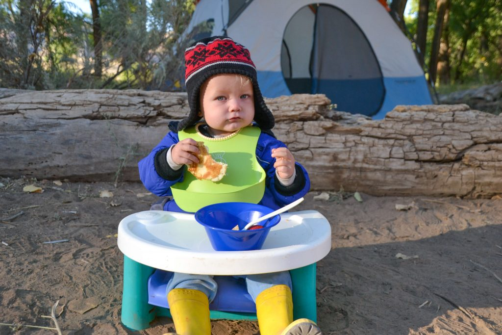 baby camping highchair