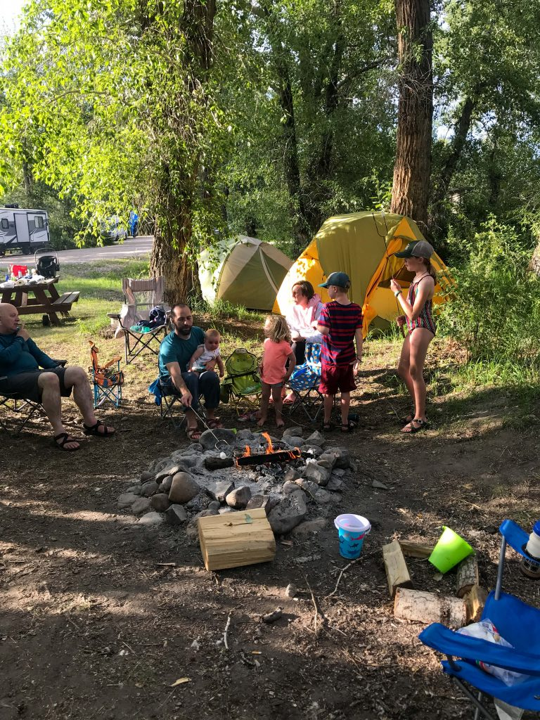 montana camping with kids