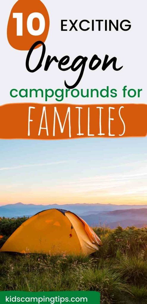 oregon kid campgrounds